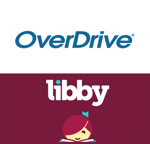 OverDrive and Libby Logos
